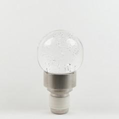 Bouchon en verre soufflé - forme boule